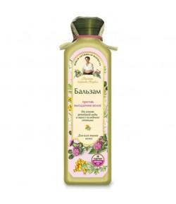 Balsam przeciw wypadaniu - wyciąg z łopianu, oleje z zimnego tłoczenia - Receptury Babci Agafii 350ml
