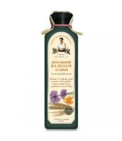 Balsam Domowy Codzienny do wszystkich rodzajów włosów - Receptury Babci Agafii 350 ml