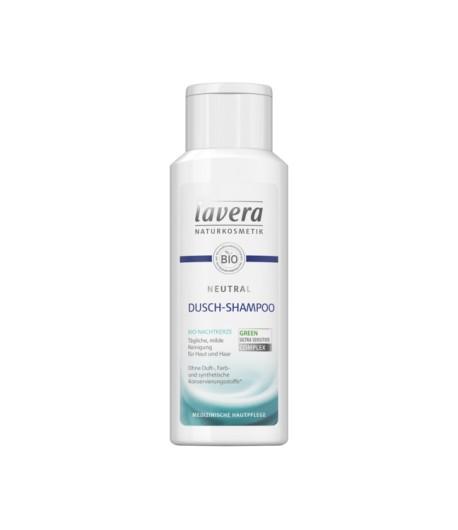 NEUTRAL Żel do mycia włosów i ciała dla suchej i alergicznej skóry - Lavera 200 ml