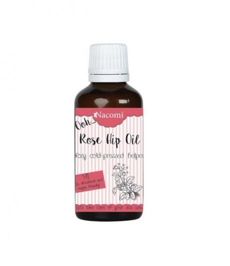 Olej zimnotłoczony nierafinowany z owoców dzikiej róży - Nacomi 30 ml