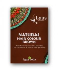 Brązowa Henna do włosów - Lass 100 g