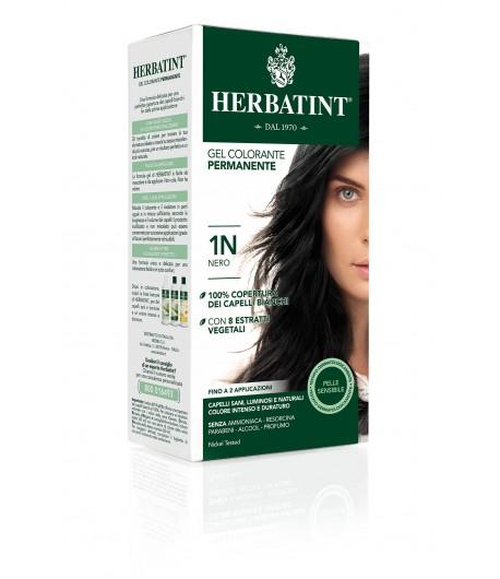 Trwała Farba Herbatint 1N Czarny (seria naturalna)