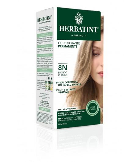 Trwała Farba Herbatint 8N Jasny Blond (seria naturalna)