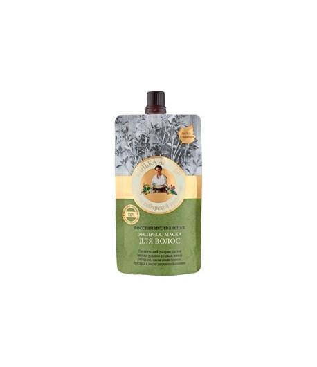 Ekspres Maska do włosów - Regeneracyjna - Elastyczność i Blask - Bania Agafii 100 ml