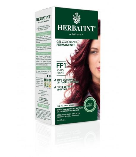 Trwała Farba Herbatint FF1 Czerwień Henny (seria modny błysk)