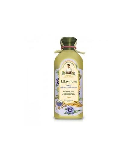 Szampon Objętość i Zdrowy Wygląd - dla wszystkich typów włosów - Receptury Babci Agafii 350 ml