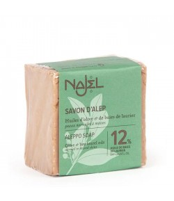 Mydło Oliwkowo - Laurowe z Aleppo 12% - Najel 185g