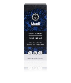 Naturalna Henna Indygo (kolor czarny) - Khadi 100 g