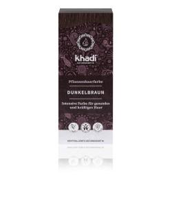 Naturalna Henna Ciemny Brąz - Khadi 100 g