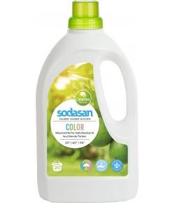 Ekologiczny Limonkowy płyn do prania Color - Sodasan 1,5 l