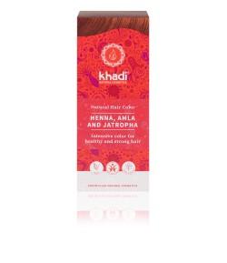 Naturalna Henna z Amlą i Jatrophą - Khadi 100 g