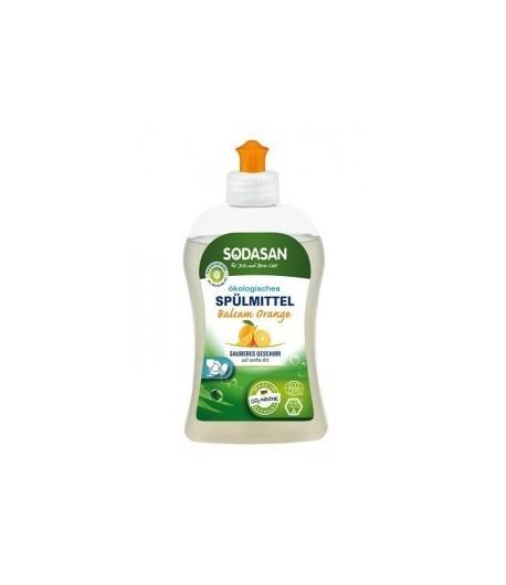 Ekologiczny Balsam do zmywania naczyń - pomarańczowy - Sodasan 500 ml