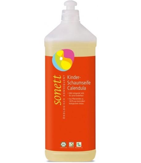 Mydło w piance dla dzieci - Nagietek - Sonett 1 litr. Opakowanie uzupełniające.