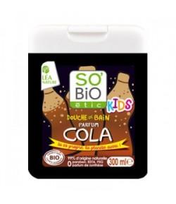Szampon i żel pod prysznic dla dzieci Cola - SO'BiO Etic 300 ml
