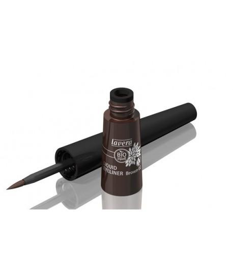 Płynny eyeliner - brązowy 02 - Lavera 3,5 ml