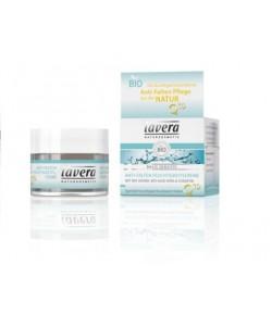 Krem nawilżający przeciwstarzeniowy z koenzymem Q10 - Lavera 50 ml
