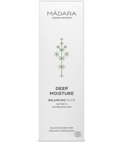 Deep Moisture Balansujący fluid do skóry normalnej i mieszanej - Madara 50 ml