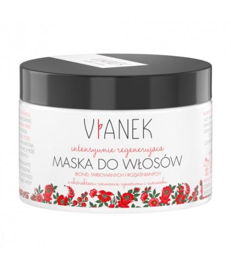 Intensywnie regenerująca maska do włosów blond, farbowanych, rozjaśnianych - Vianek 150 ml