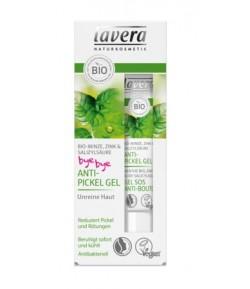 Żel na wypryski z bio-miętą, cynkiem i kwasem salicylowym - Lavera 15 ml