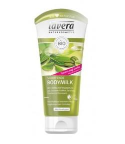 Ujędrniające mleczko do ciała z zieloną kawą, herbatą, winogronami i rozmarynem - Lavera 200 ml