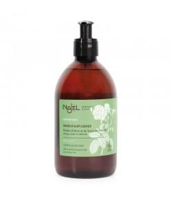 Mydło ALEPPO w Płynie z organiczną wodą różaną - NAJEL 500 ml
