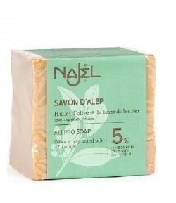 Mydło Oliwkowo - Laurowe z Aleppo 5% - Najel 190 g