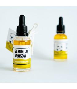Serum do włosów wysokoporowatych - Mydlarnia Cztery Szpaki 30 ml