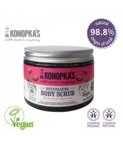 Rewitalizujący scrub do ciała dla skóry dojrzałej, suchej i wrażliwej - dr Konopka 500 ml