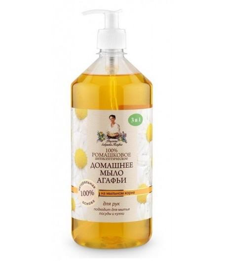 Mydło domowe - Rumianek i Mydlnica - Receptury Babci Agafii 1000 ml