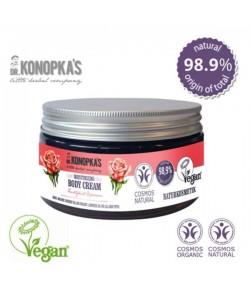 Nawilżający krem do ciała - dla wszystkich typów skóry - dr Konopka 300 ml