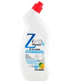 Eco żel do mycia toalet - sól morska i sok z cytryny - Zero 750 ml