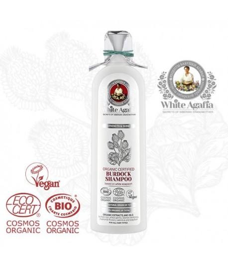 Szampon Łopianowy - White Agafia 280 ml