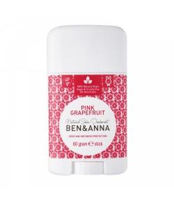 Naturalny dezodorant PINK GRAPEFRUIT - sztyft plastikowy - BEN&ANNA 60g