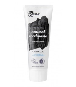 Naturalna pasta do zębów z aktywnym węglem i fluorem - Humble Brush 75 ml