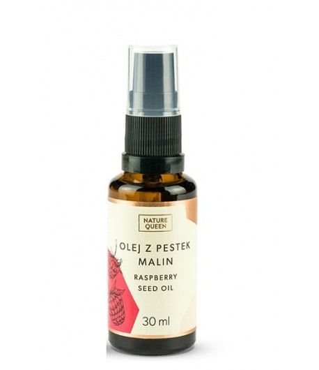 Olej z pestek malin - Nature Queen 30 ml