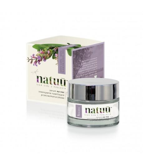 Serum na noc z ekstraktem z szałwii - Natuu 50 ml