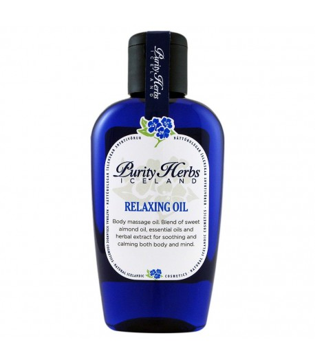 Relaxing Oil - Purity Herbs Iceland 125 ml