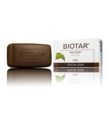 Mydło Dziegciowe Twarde - Biotar 140g