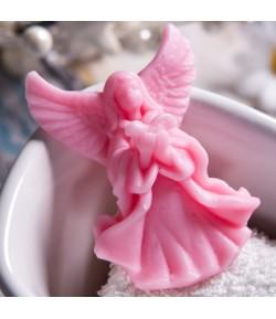 Mydło glicerynowe - mały aniołek - różowy - LaQ 20g