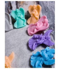Mydło glicerynowe - mały aniołek - niebieski - LaQ 20g