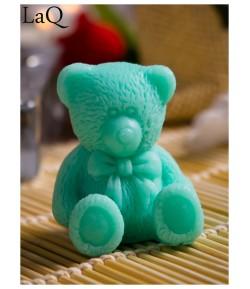 Mydło glicerynowe - mały Miś - zielony - LaQ 30g