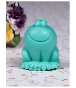Mydło glicerynowe - Żabka - zielona - LaQ 50 g