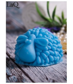 Mydło glicerynowe - Baranek - niebieski - LaQ 100 g