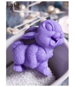 Mydło glicerynowe - Uśmiechnięty królik - fioletowy - LaQ 60 g