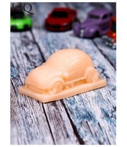 Mydło glicerynowe - Pan samochodzik - pomarańczowy - LaQ 60 g
