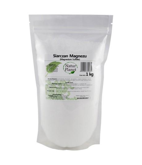 Siarczan Magnezu - Sol Epsom - Natur Planet 1 kg