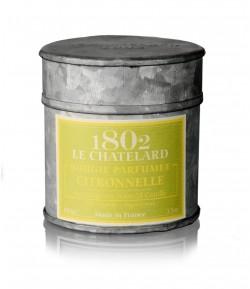 Świeca zapachowa TRAWA CYTRYNOWA 100 g - LE CHATELARD 1802