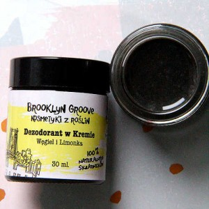 Dezodorant w kremie Węgiel i Limonka - Brooklyn Groove 30 ml