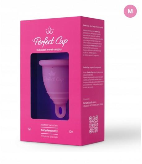 Kubeczek menstruacyjny M - ciemny róż - Perfect Cup