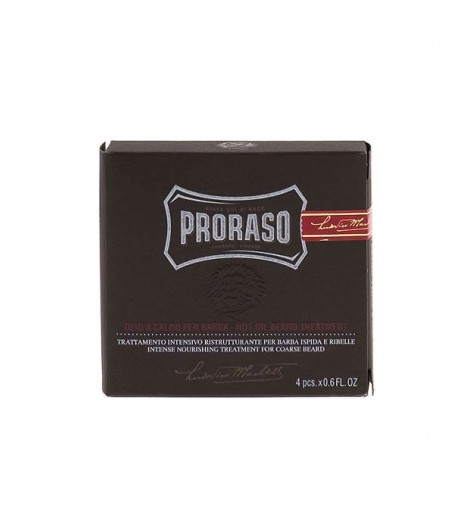 Olejek do brody - Hot Oil - Proraso 4x17 ml